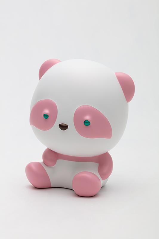 Sweet Resting Pink Pandana, 19x16x23cm, urethane paint on plastic, 2020.jpg