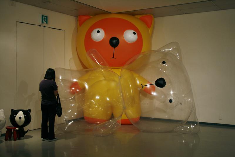 Big Balloon Clo No.3, 4, 230x260x400cm, plastic balloon, 2008.JPG