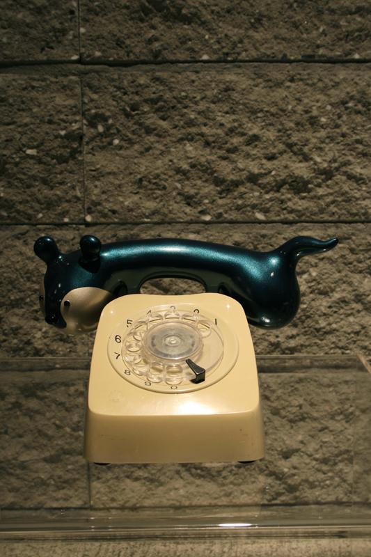 Sudaru Phone, 17x20x18cm(each), mixed media, 2007.JPG